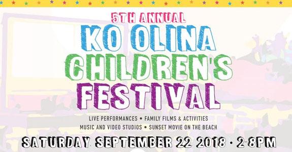 5th Annual Ko Olina Children's Festival