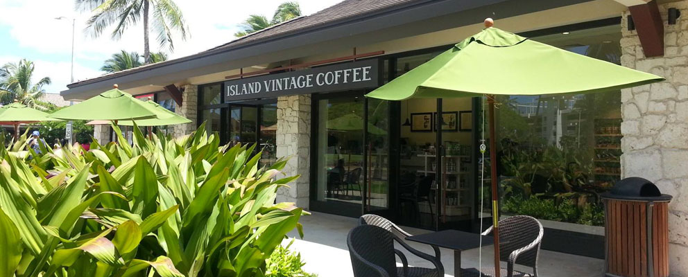Island Vintage Coffee's fifth Hawaii location at Ko Olina
